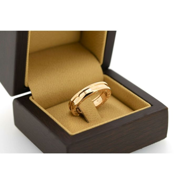 Bulgari B Zero1 Rose Gold 18K ring - Size 57 - No Reserve Price
