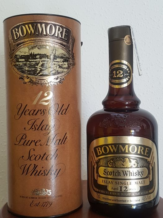 Bowmore 12 years old, bottled 80s