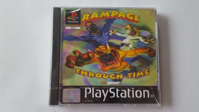 Rampage Through Time - Factory Sealed