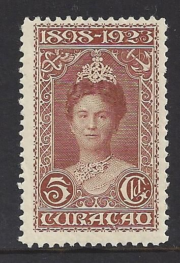Curaçao 1923 - Government anniversary - NVPH 81