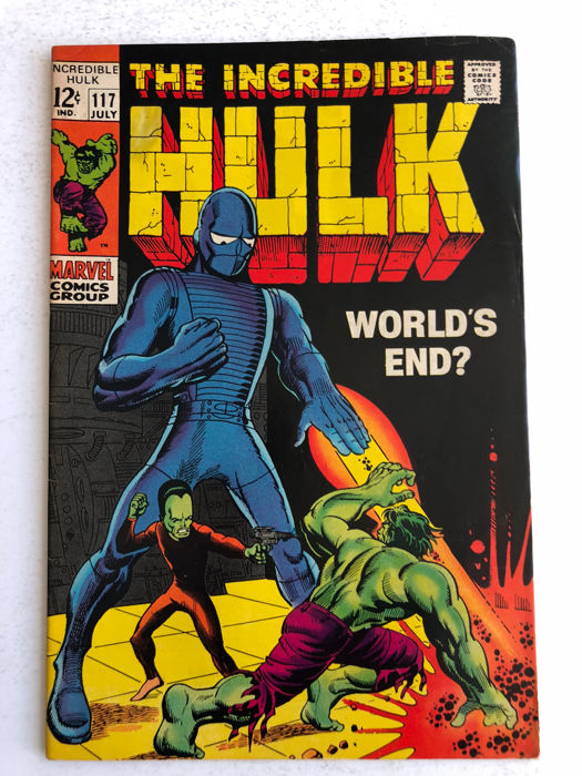 The Incredible Hulk #117 - Hulk vs The Leader - Prima Edizione - (1969)