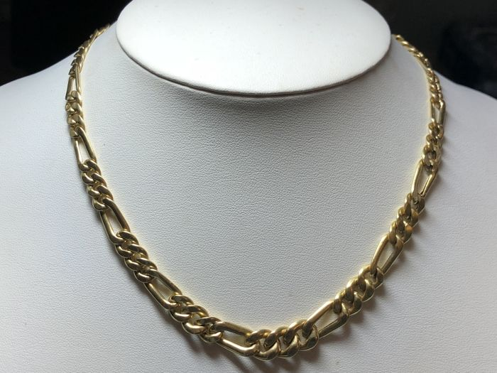 Loris - necklace in 18 kt yellow gold - Length: 44.5 cm