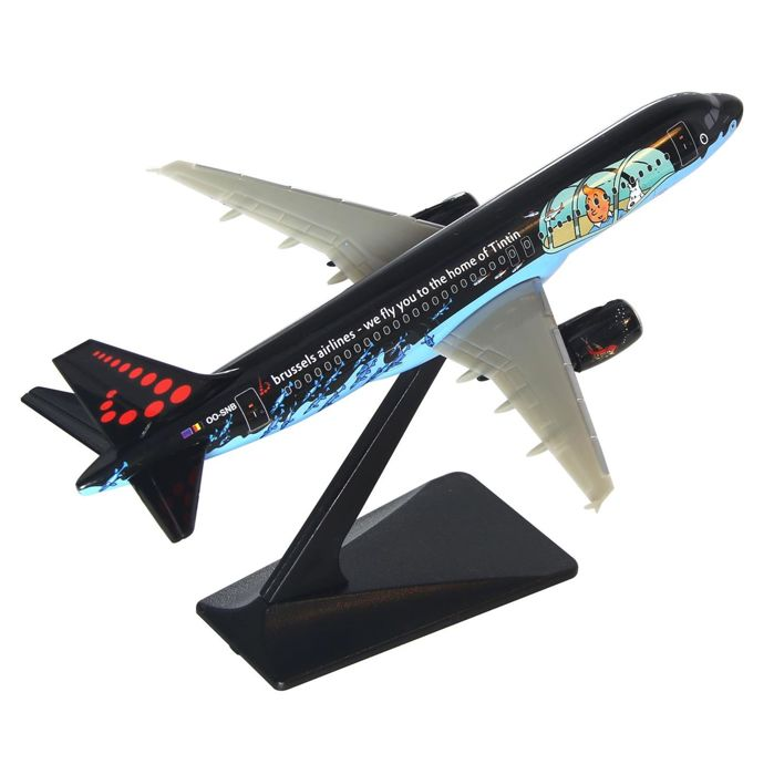 Tintin - Maquette Brussels Airlines - Airbus A320 Rackham - (2016)