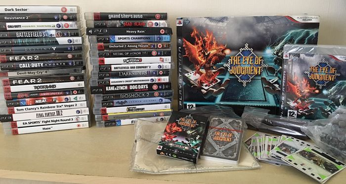 MASSIVE Bundle of 34 PS3 Games + Eye of Judgement + Big Titles + Limited & Special Editions + Steelbook & More