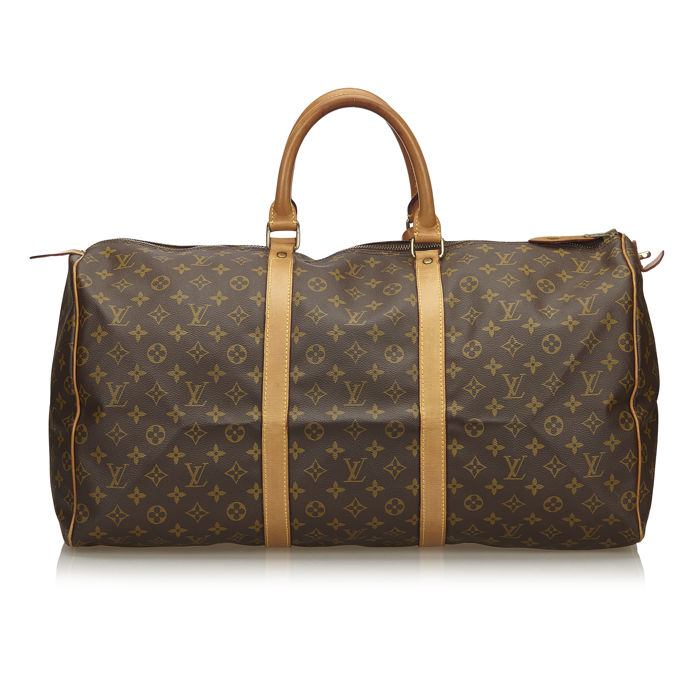 Louis Vuitton - Monogram Keepall 55