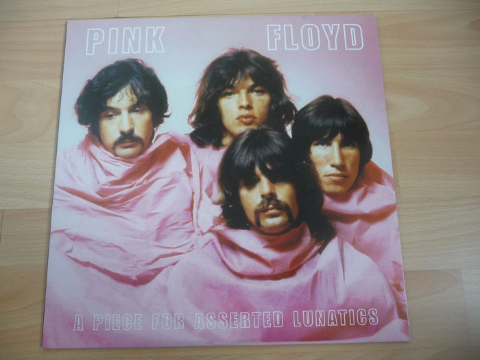 Pink Floyd - 2LP Album - A Piece for asserted Lunatics