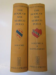 Henry Yule & Henri Cordier - The Book of ser Marco Polo  - 1975