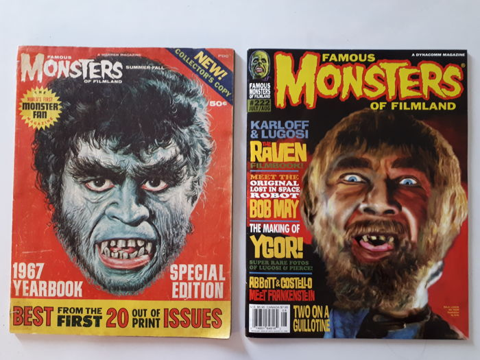 Terreur -  Famous Monsters of Filmland 1967 Special and Issue #222  - Brossura - Prima Edizione - (1967/1998)