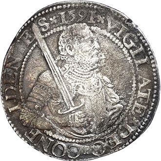 Netherlands - Holland - 1 Reichsthaler 1591 - Hopea