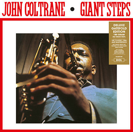 "Lots off 4 John Coltrane Albums all on 180 Grams Vinyl Deluxe Gatefold Edition, Giant Steps, Coltrane, ""Live"" At The Village Vanguard, Ballads"