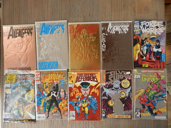 "Various: -  ""gimmick"" & variant covers - Softcover - First Edition - (1990/2000)"