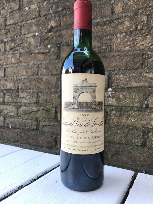 1972 Chateau Leoville-Las Cases 'Grand Vin de Leoville', Saint-Julien, France , 1 fles 0,75l