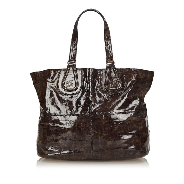 Givenchy - Patent Nightingale Tote