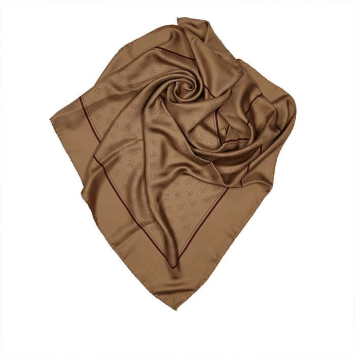 Chanel - Printed Silk Scarf