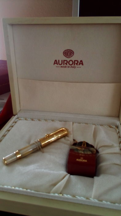 Piston filler Aurora Paulus II limited