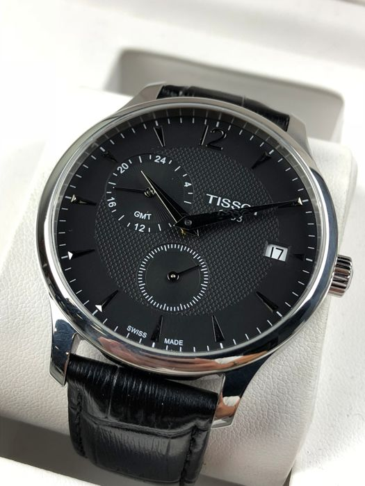 Tissot - Tradition GMT - NO RESERVE T063639A - Heren - 2011-heden