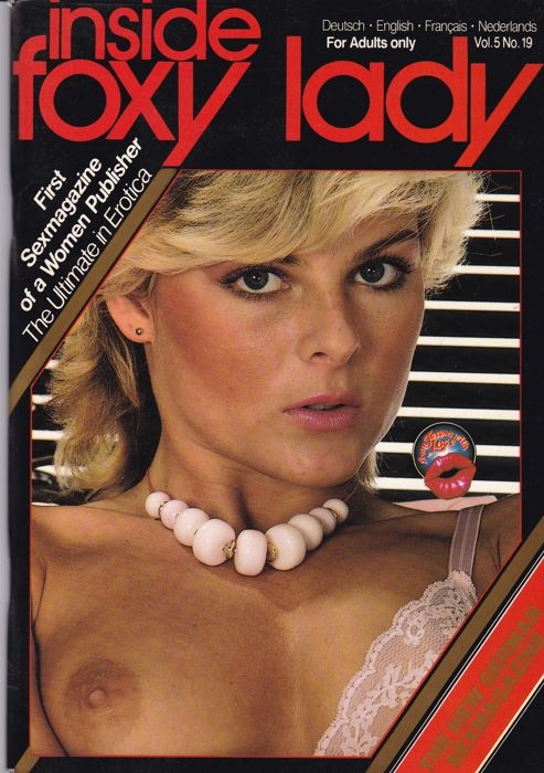 Pornography; Lot with 15 Foxy Lady magazines - 1983/1984