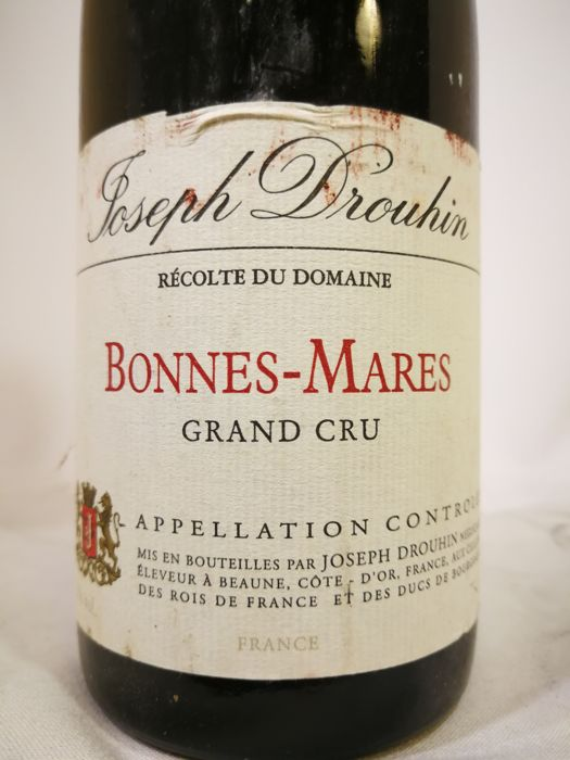 1992 Bonnes-Mares Grand Cru Joseph Drouhin x  1 bottle