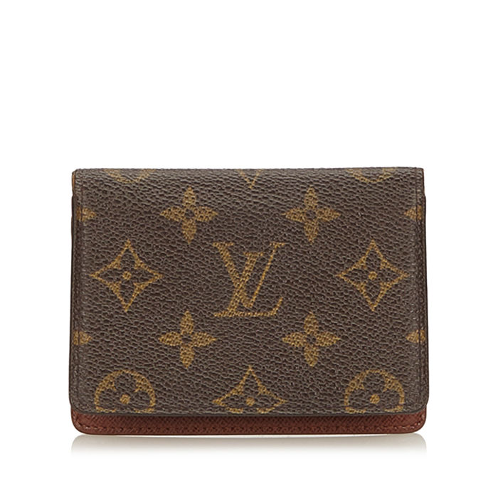 Louis Vuitton - Monogram Porte 2 Cartes Vertical