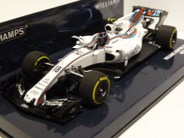 MiniChamps - 1:43 - Williams Martini Racing Mercedes FW40  - #18 Lance Stroll - GP Australia - 2017