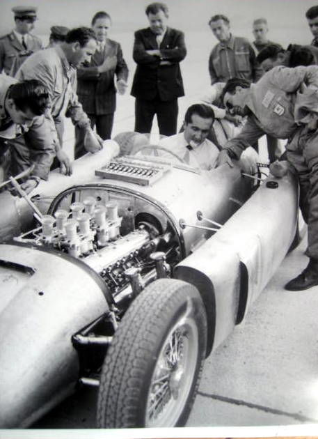 Decorative object - Great Photo : Alberto Ascari/Lancia D50 - 1955 (1 items)