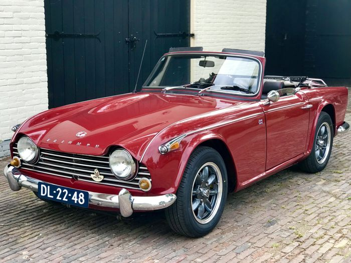 Triumph - TR4A IRS Overdrive - 1967