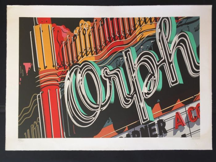 Robert Cottingham - Orph