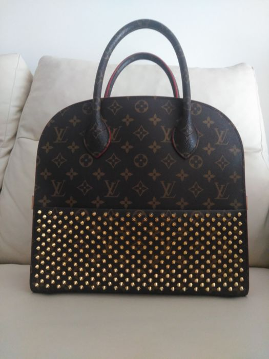 Louis Vuitton - X Christian Louboutin Shopping  Tote bag