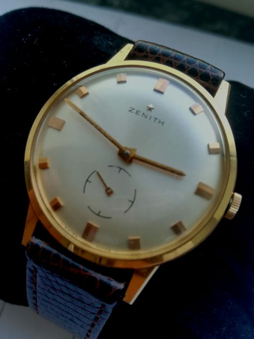 Zenith - Stellina Calatrava 18 kt gold - Swiss made cal. 2531 - Men's - 1960–1969