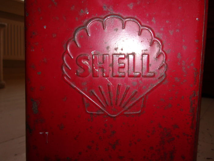Shell fuel 1960