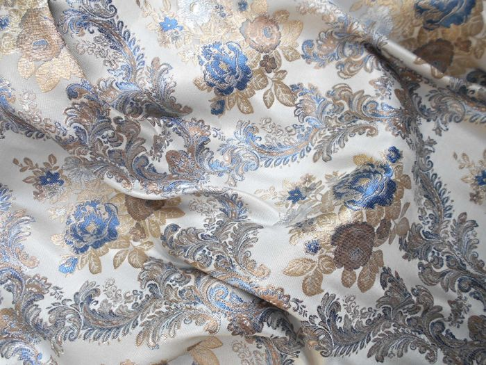 Lot consisting of 3 metres of prestigious San Leucio luxury fabric - no reserve price