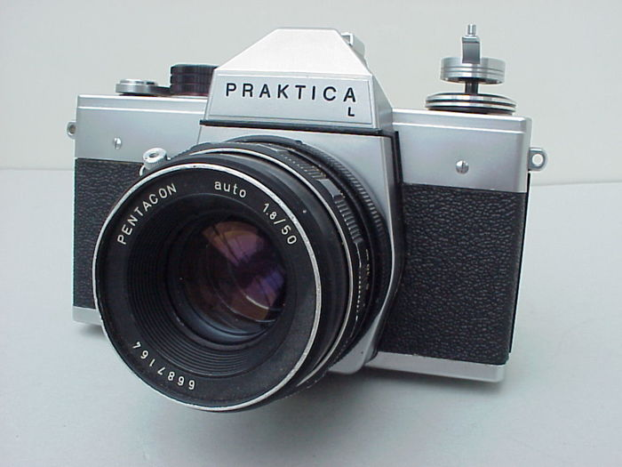 Very good praktica l pentacon auto camera from