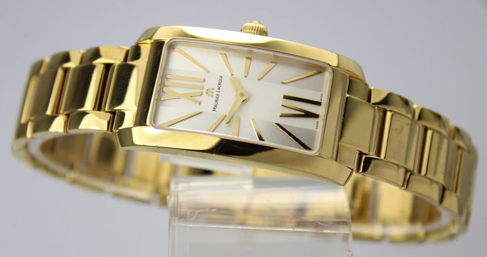 Maurice Lacroix -  Fiaba Gold Plated Watch  - FA2164-PVY06-112 - Women - 1990-1999