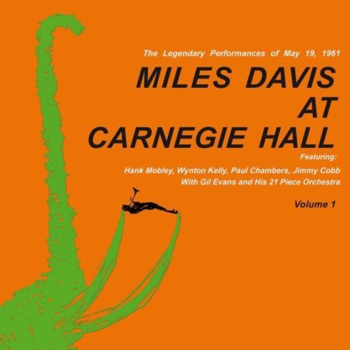 Lots off 4 Albums By Miles Davis all on 180 Grams Vinyl, Miles Davis At Carnegie Hall Volume 1 and 2, Relaxin' With The Miles Davis Quintet, Porgy And Bess