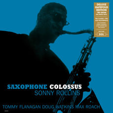 Lots off 4 Giants of Jazz all on 180 Grams Vinyl, Sonny Rollins, John Coltrane, Sonny Clark, Thelonious Monk And Gerry Mulligan