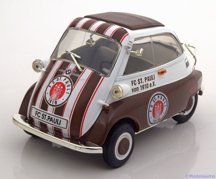 revell 1 18 bmw isetta 250 fc st pauli voetbal. Black Bedroom Furniture Sets. Home Design Ideas