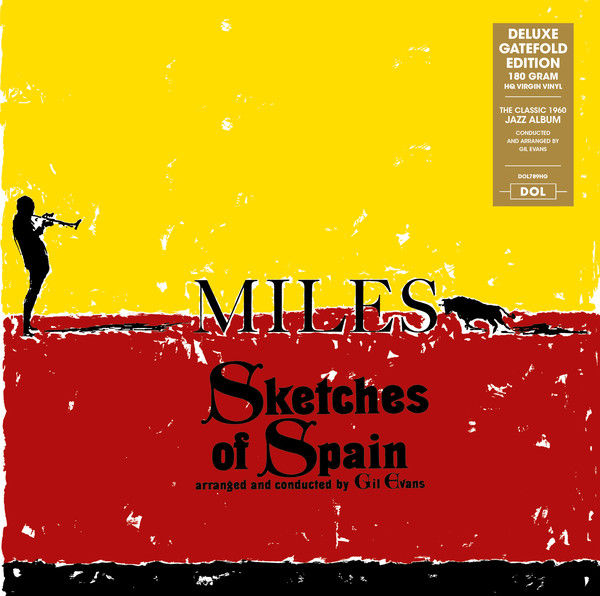 Lots off 4 Albums By Miles Davis all on 180 Grams Vinyl, Sketches Of Spain, Kind Of Blue, Walkin', Steamin' With The Miles Davis Quintet