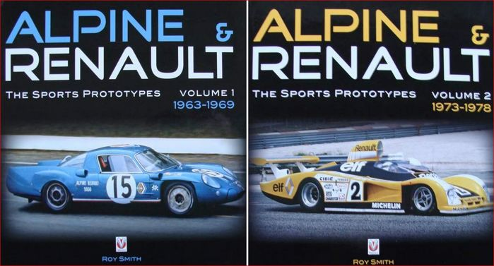 Books - 2 volumes - Alpine & Renault – The Sports Prototypes - 1963-1978 (2 oggetti)
