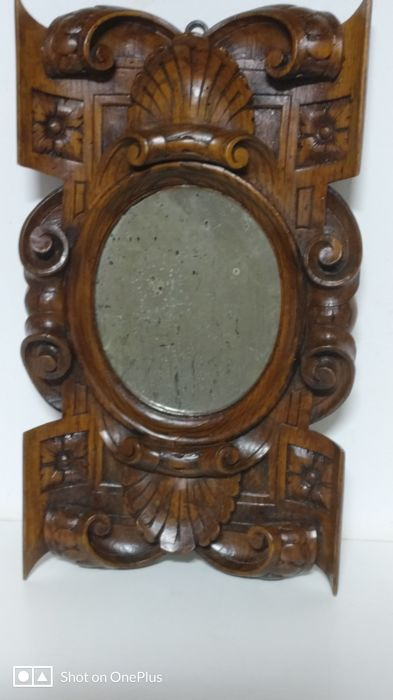 Charles X carved mirror, early 20th c