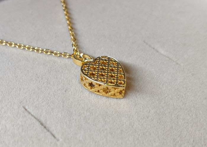 Gucci - 18 kt yellow gold necklace from the Diamantissima collection, ref. YBB39019300100U - new, with 2-year guarantee