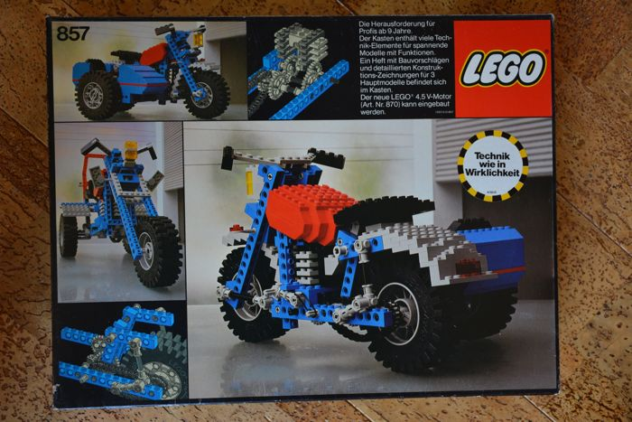 Technic 857 Motorcycle Catawiki