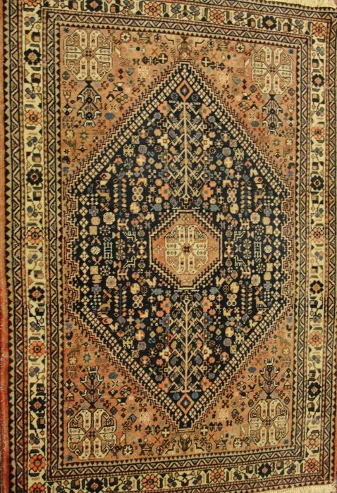 Semi antique Abadeh, Iran, 150 cm x 103 cm