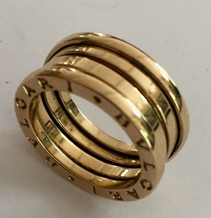BULGARI B.zero, 1 ring, yellow gold, size 52 - Catawiki 2e8eb7db86d