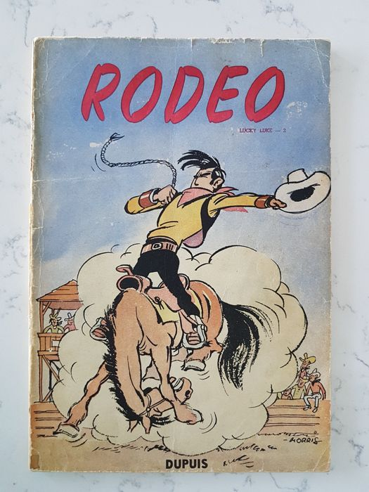 Lucky Luke 2 - Rodeo - Broché - EO - (1950)