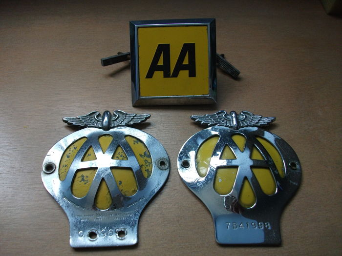 Insigne - AA CLASSIC CAR - 1970-1960 (3 items)