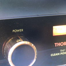 """Thorens """"Clean Power System TNF 2000"""" network phase control great condition"""