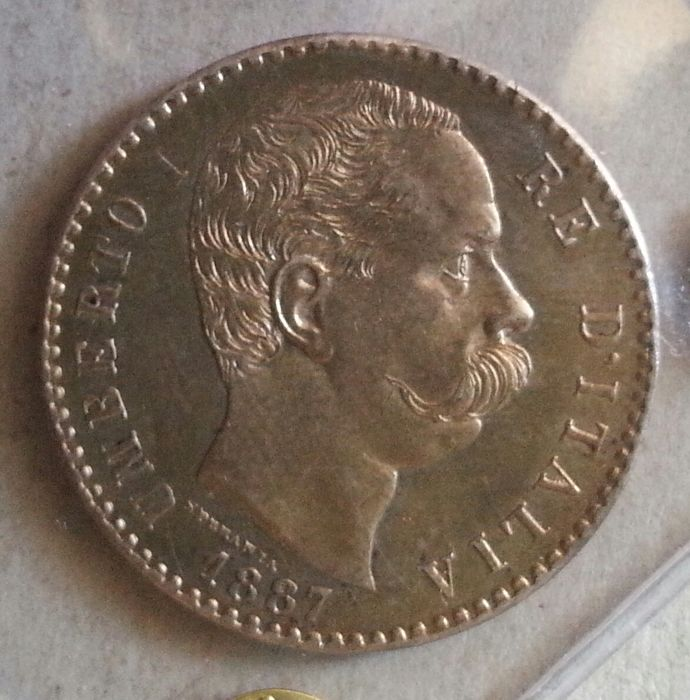 Kingdom of Italy - Umberto I - 2 Lire 1887