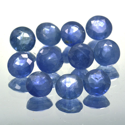 11 Blue Sapphires - 3.08 ct. - No Reserve Price