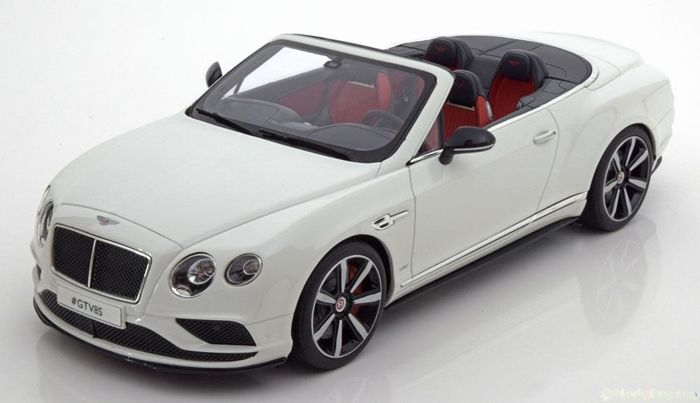 GT Spirit - 1:18 - Bentley Continental GT V8S Cabrio - limited 504 pcs