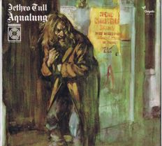 """JETHRO TULL - Quadraphonic LP: Aqualung (Chrysalis – CH4 1044) USA 1975 Quadraphonic LP 